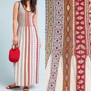Aldomartins Anthropologie Maxi Dress Colorful M